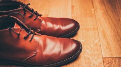 Čistění kožených bot