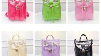Průhledné batohy